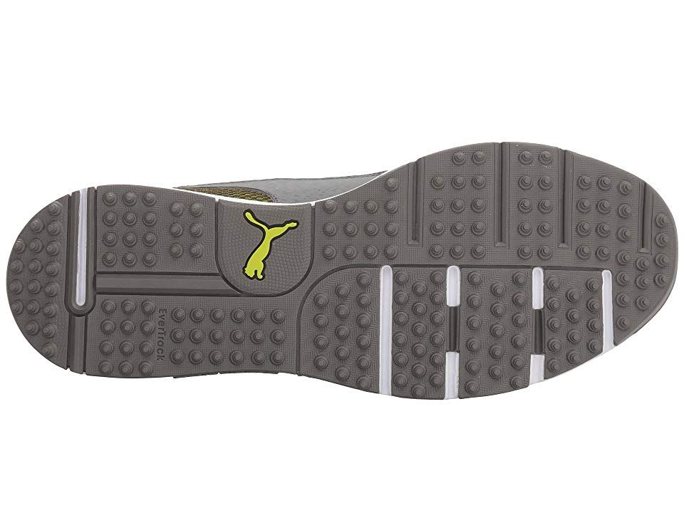 603feb9bad87 PUMA Golf Grip Sport Tech Men s Golf Shoes Quiet Shade Quiet Shade Acid Lime