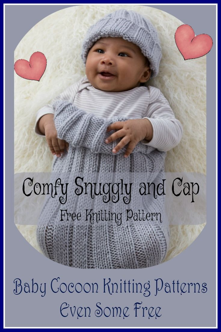 Baby Cocoon Knitting Patterns - Snuggly Warm & Secure While Sleeping ...