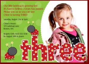 3rd birthday invitations 365greetings