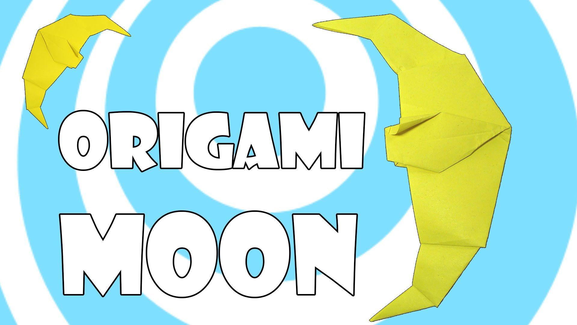 Diy simple origami moon tutorial origami origami instructions diy simple origami moon tutorial origami jeuxipadfo Image collections