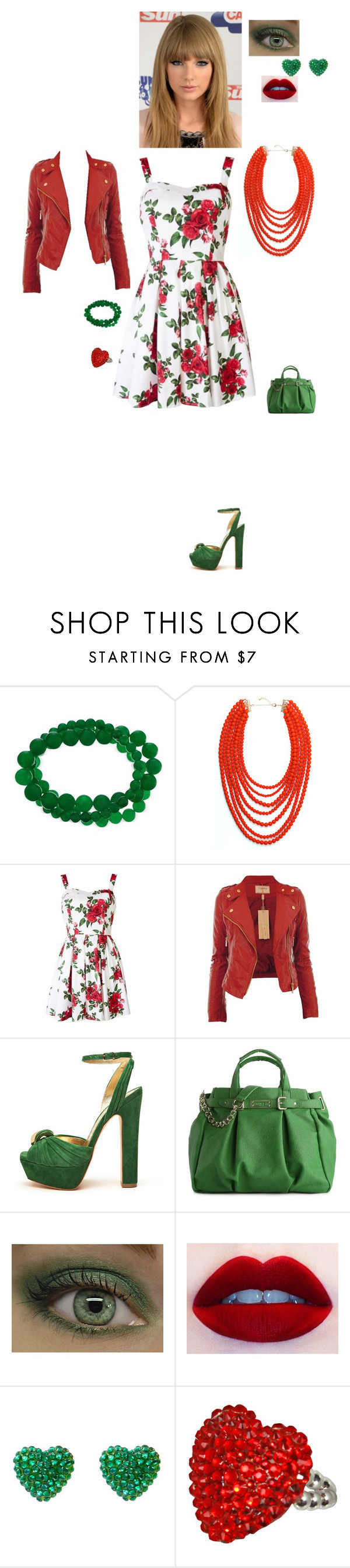 """Fun day out"" by astar92011 ❤ liked on Polyvore featuring BaubleBar, Hell Bunny, Mimco, Olivia + Joy, Lime Crime and Tarina Tarantino"