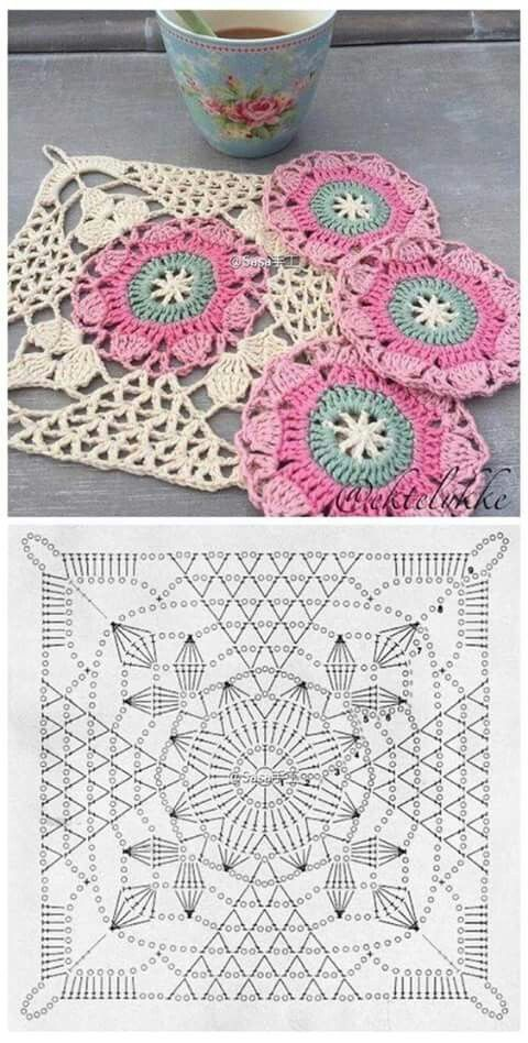 Pin von Nahida Benhammou auf Crochet | Pinterest | Häkeln ...