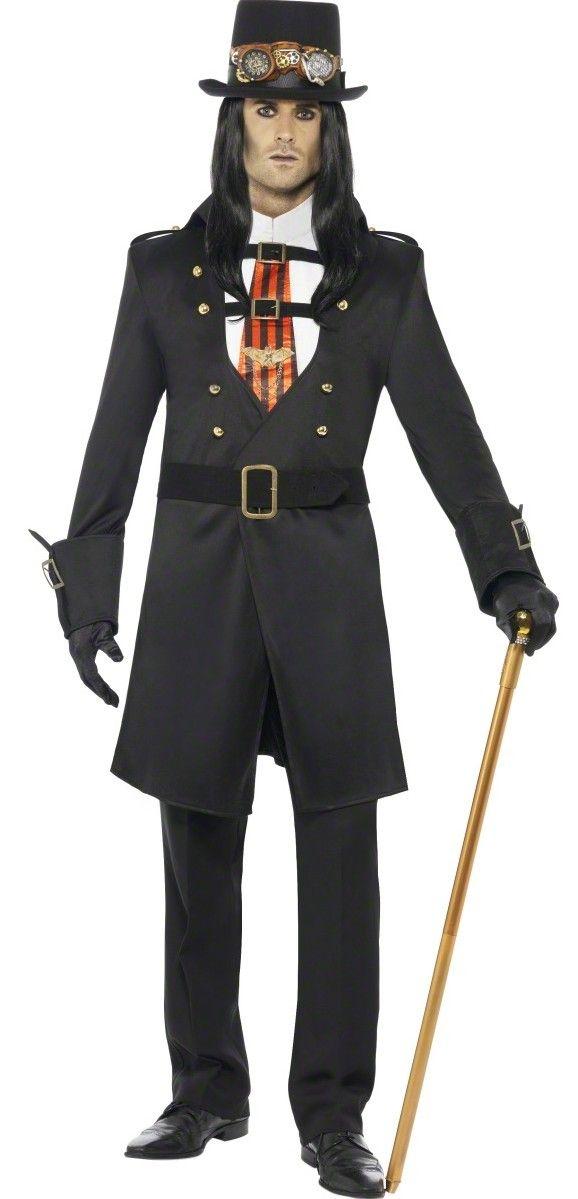 Déguisement comte Steampunk homme Halloween  Deguise,toi, achat de  Deguisements adultes