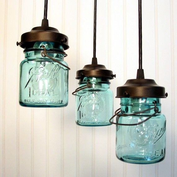 Pin By Bev Retland On To Create Is To Be Jar Chandelier Mason Jar Lighting Jar Lights