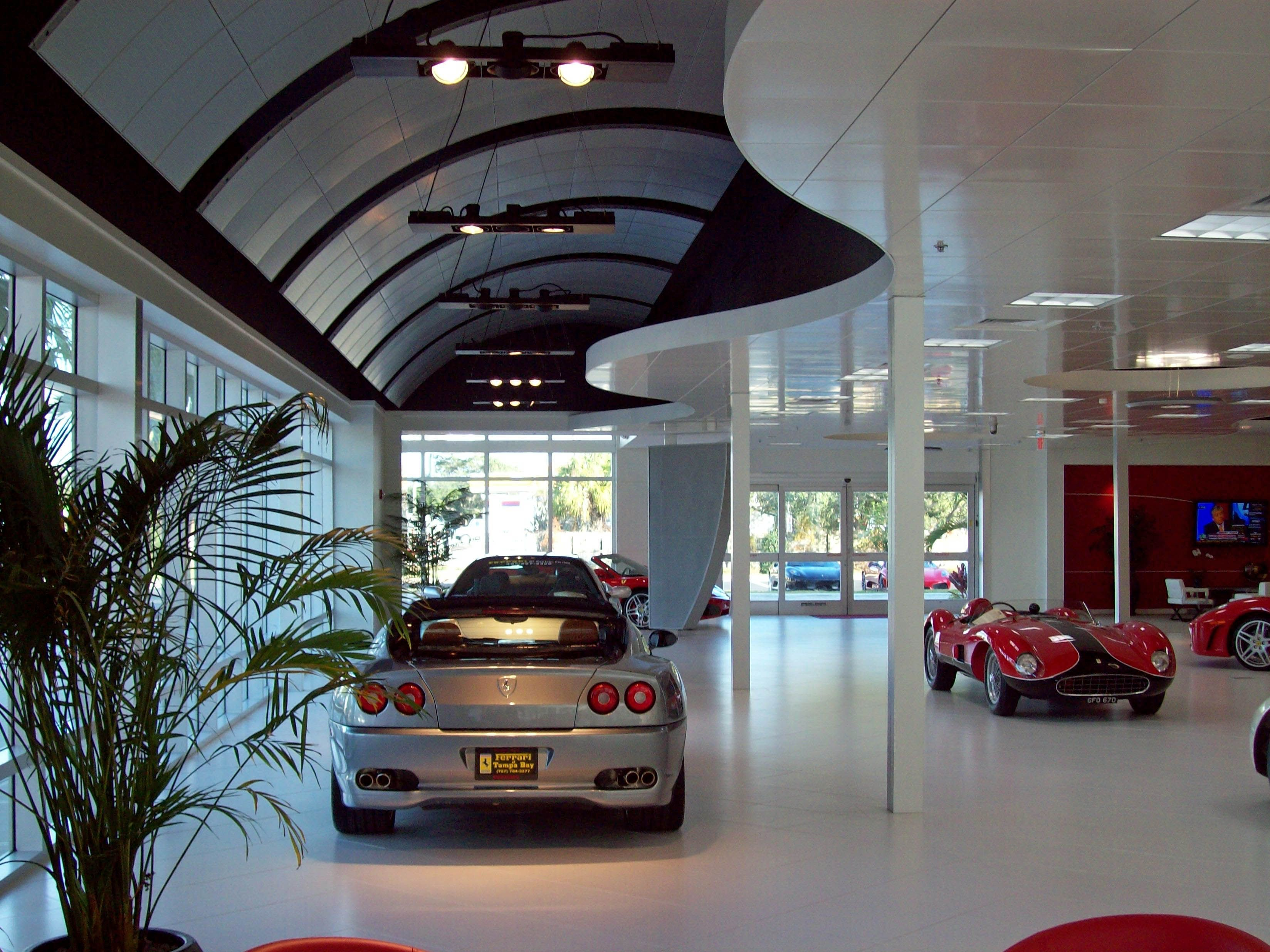 High Quality Interior At Ferrari Of Tampa Bay