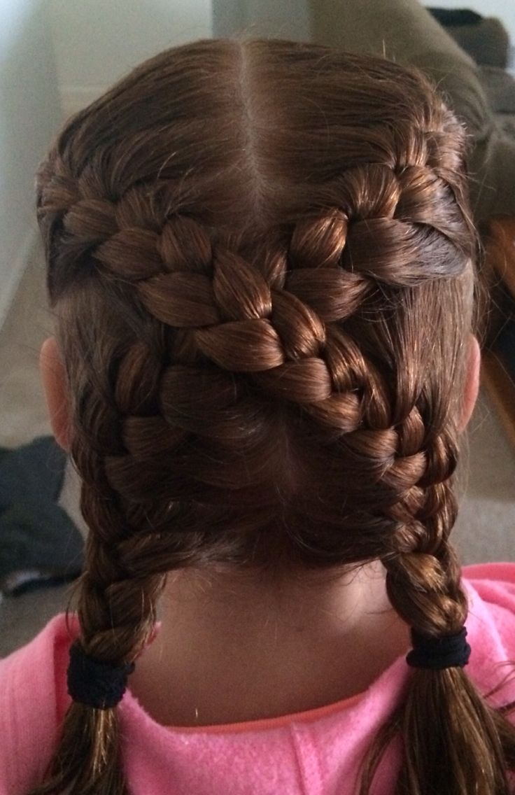 Crisscross French Braid