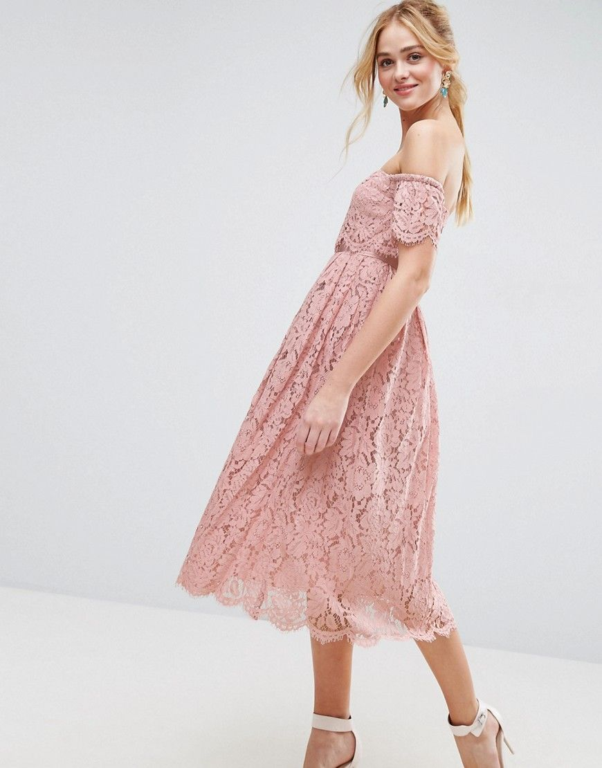 Get this Asos\'s midi dress now! Click for more details. Worldwide ...