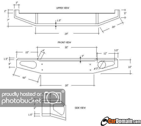 Winch Bumper Blueprints Related Keywords Suggestions Winch Bumper Blueprints Long Tail Keywords Off Road Bumpers Offroad Truck Bumpers