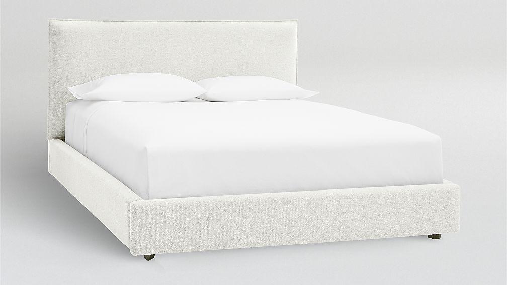 Upholstered Bed Master Bedroom, Upholstered Bed Frame Queen White
