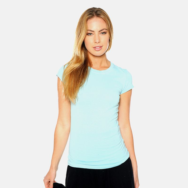 10-Pack Ladies Crew Neck or V-Neck T-Shirts - $29.99. https://www.tanga.com/deals/7cd32f6781a0/10-pack-ladies-crew-neck-or-v-neck-t-shirts