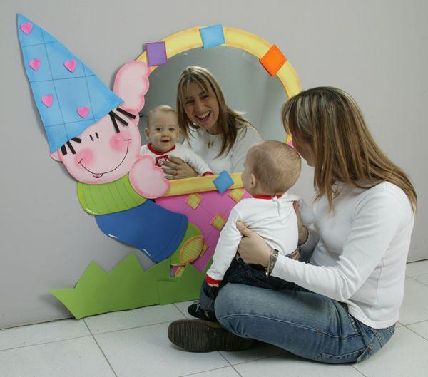 Debate el beb y el espejo m gico club ediba - Espejo irrompible ninos ...