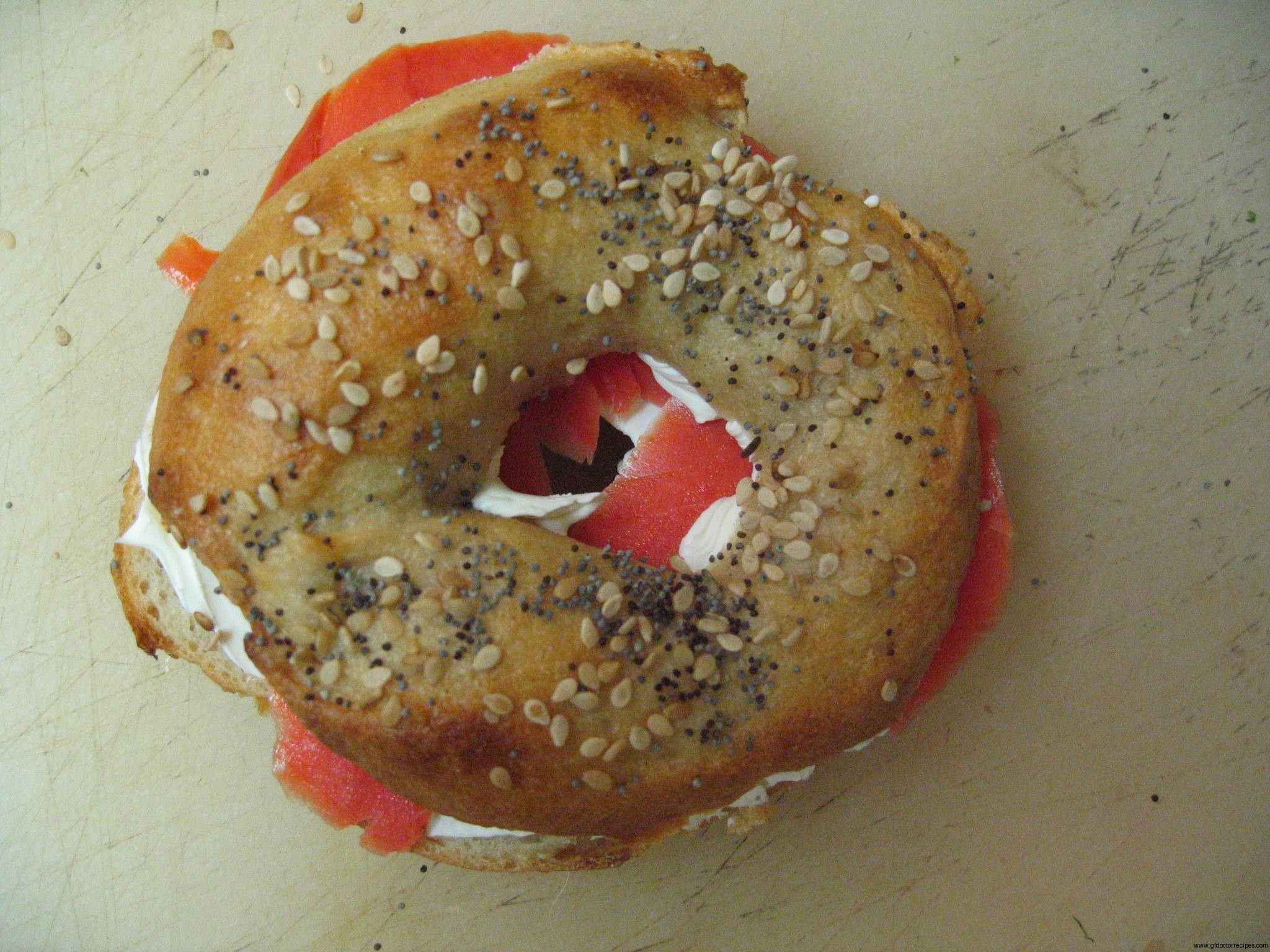 Gluten-Free Sourdough Bagels from @GFDoctor for #GFRatioRally