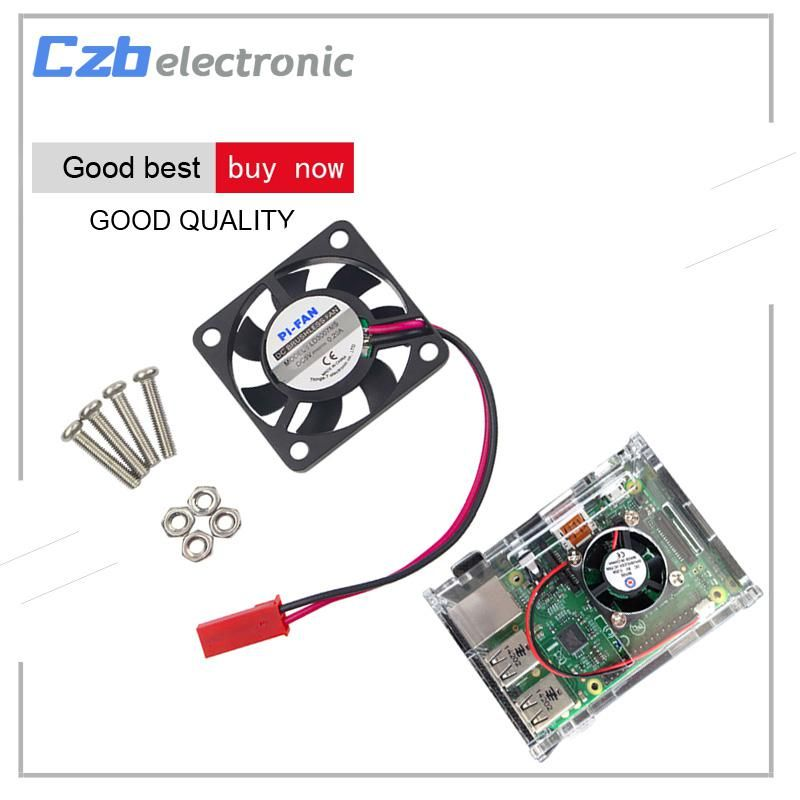 Raspberry Pi 3 CPU Cooling Cooler Fan Brushless Radiator for