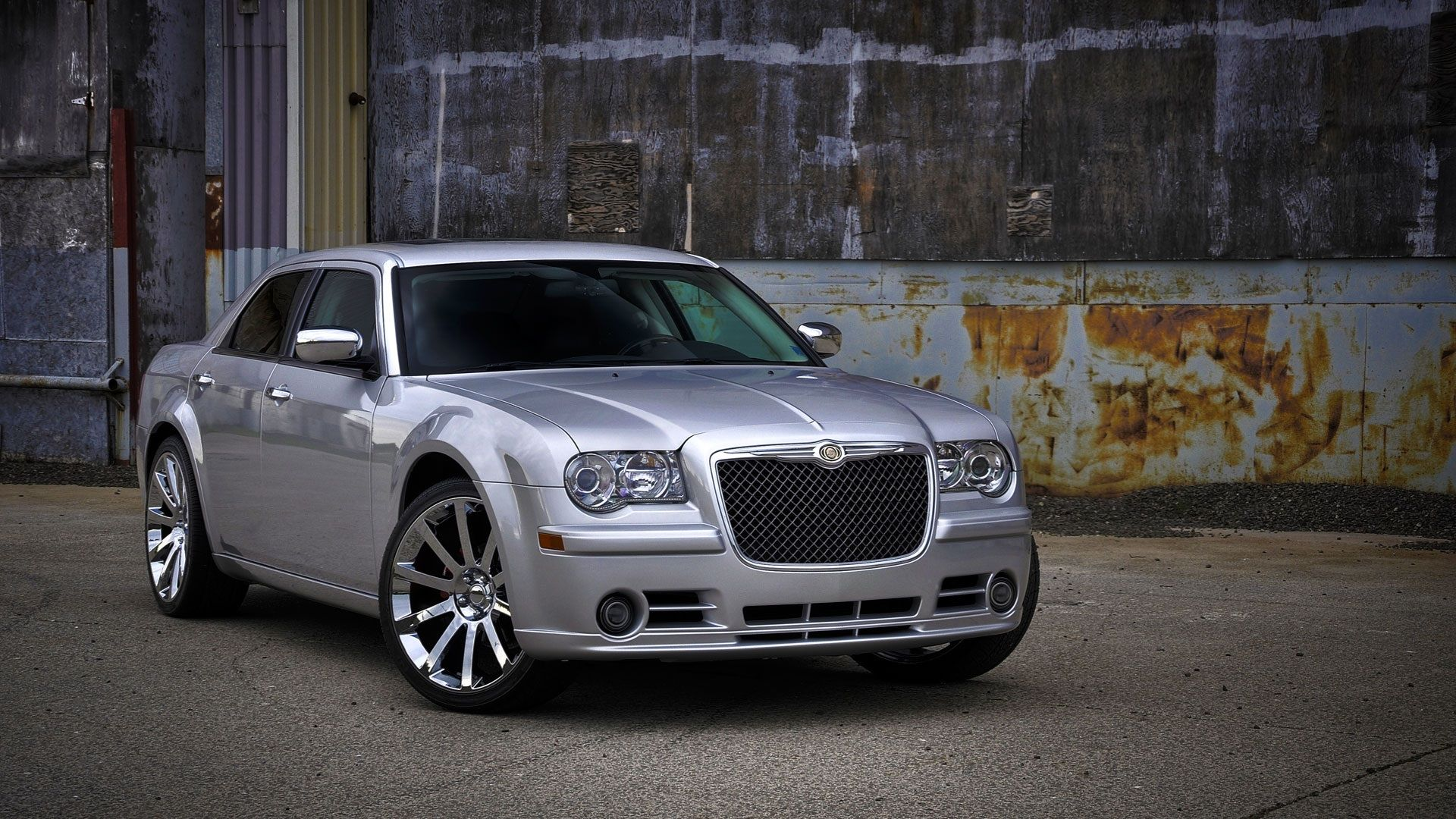 Chrysler 300 22 Srt8 Replica Chrome Wheels With Images