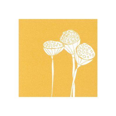 Lotus pod seed card by kikki.K Stationery & Gifts