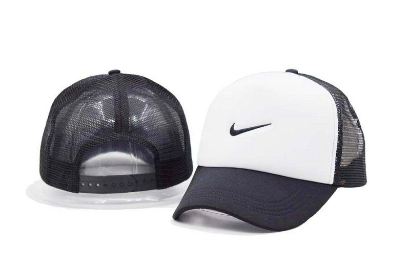 9d9d7d09e6d96 Mens / Womens Unisex Nike Swoosh Logo Embroidery Mesh Back Baseball ...