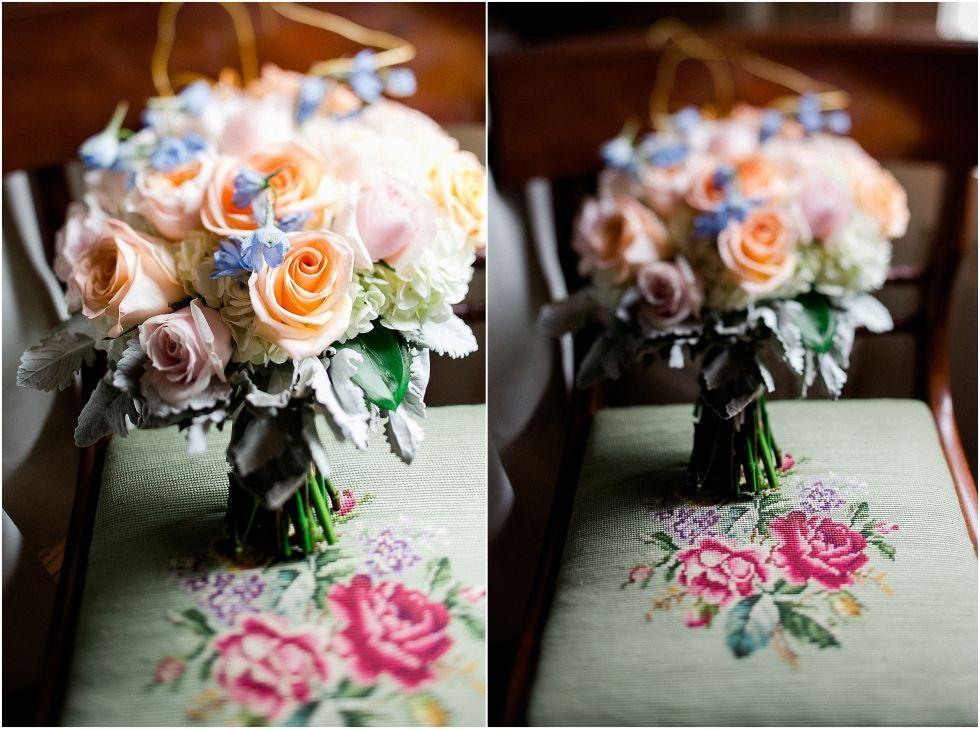Amanda+Michael- A Relaxed Cedar Hall Day Wedding