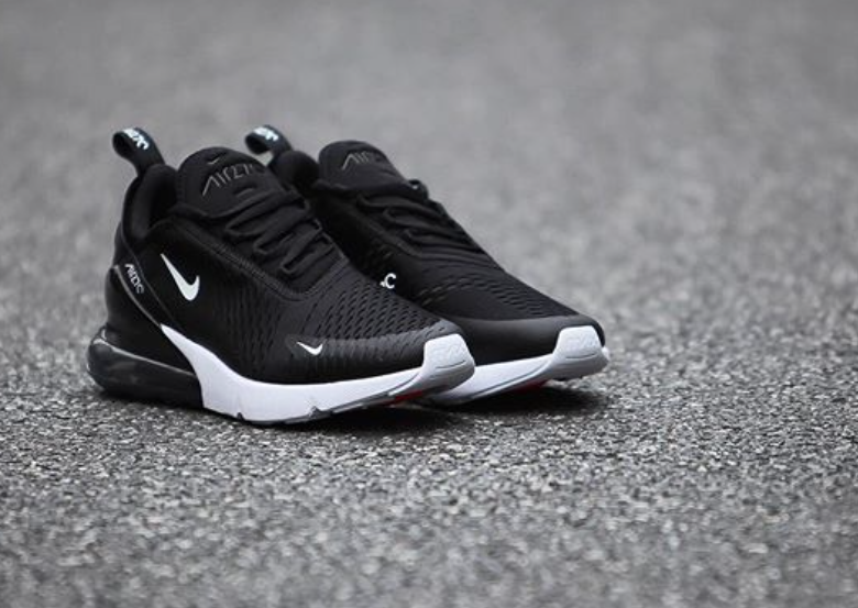 55c662039e The Nike Air Max 270 Black White is featured in additional images and it's  dropping at