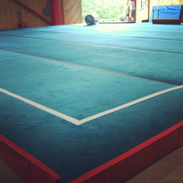 The New Gymnastics Spring Floor In 2019 Workout Rooms