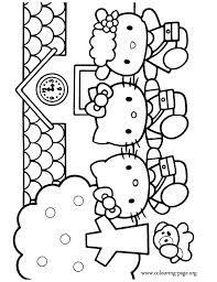Hello Kitty Fifi Google Search Hello Kitty Coloring Hello Kitty Colouring Pages Kitty Coloring