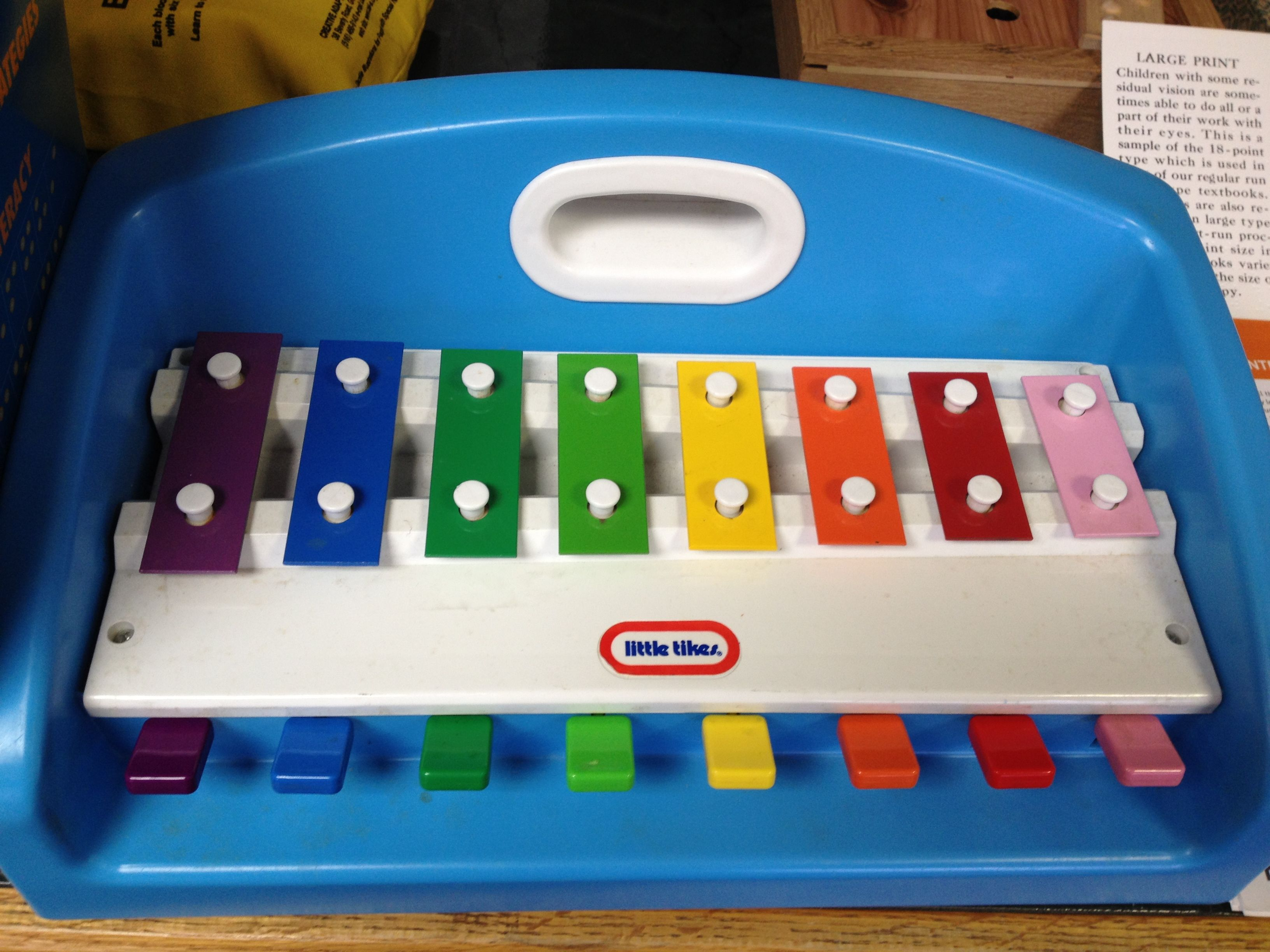Our favorite pre braille toy