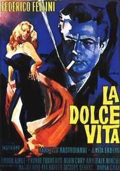 La Dolce Vita #fellini. Iconic film poster via @MariaB074