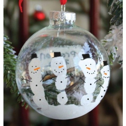 Going to make these with the kids this year kid stuff snowmen handprint ornament kit decided on this for chris last minute solutioingenieria Images