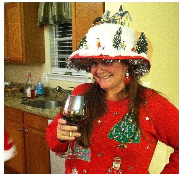 Crazy Christmas Hat Ideas: Pin On [stephfunny Likes] Christmas