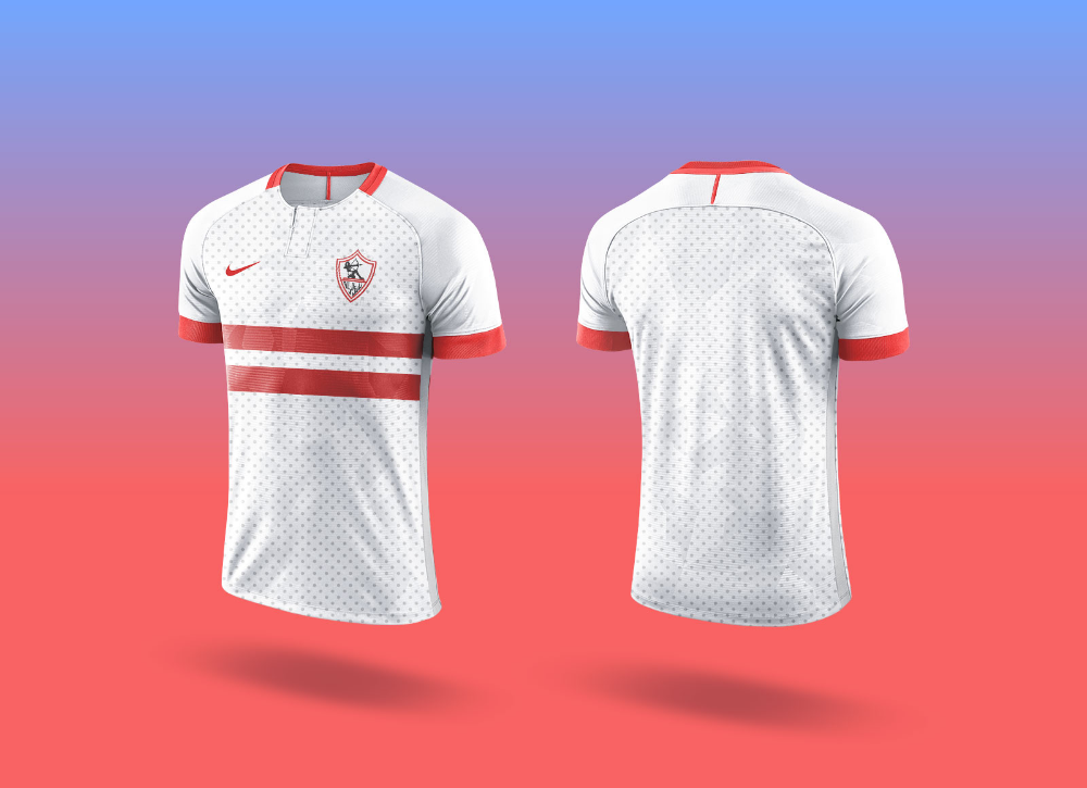 Download Free Sports Team Soccer Jersey T Shirt Mockup Psd Good Mockups Desain Sepeda