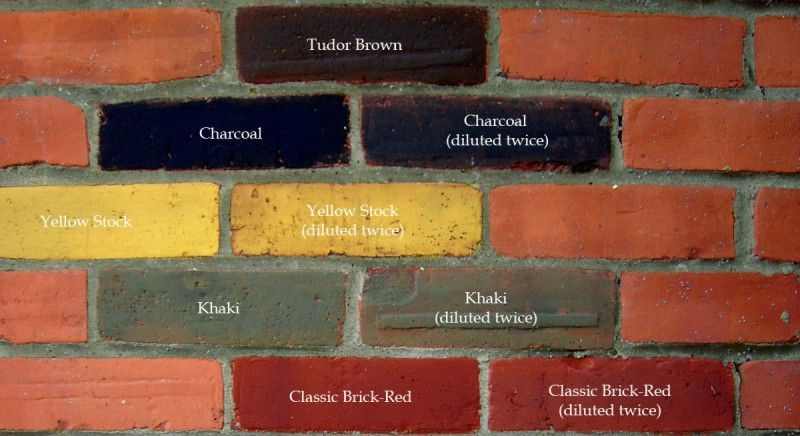 Brick stain for the outside of our home. | House Exterior Colour ...