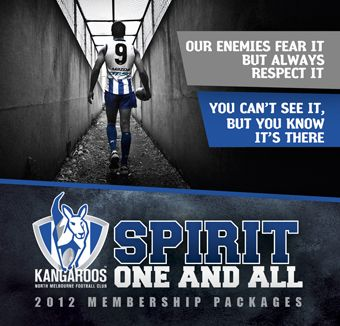 North Melbourne Football Club 2012 membership campaign