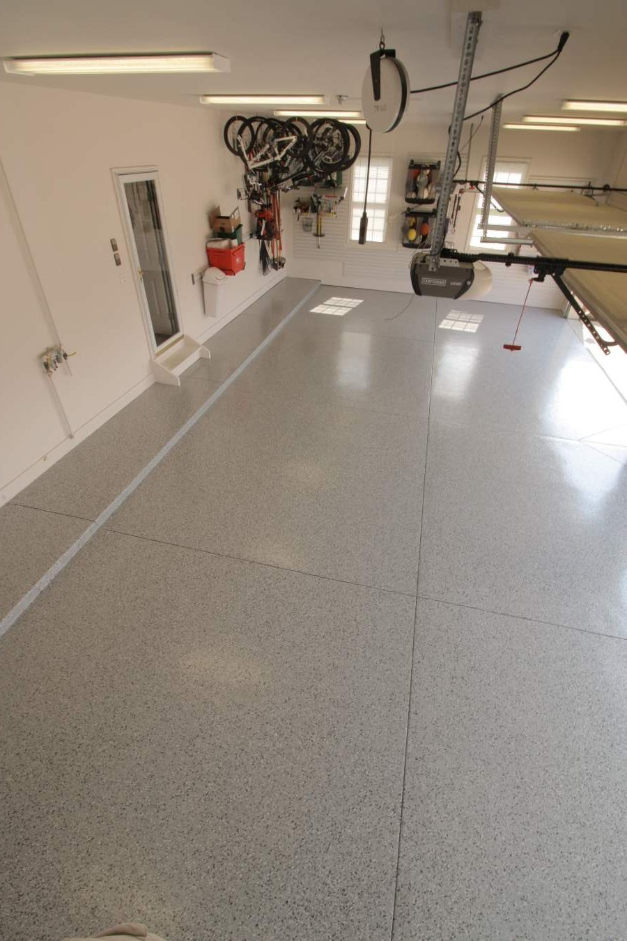 I LOVE my epoxy garage floor from Garage Flooring LLC ...