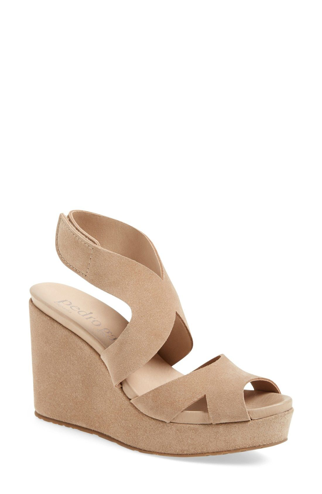 2015 new cheap online Pedro Garcia Laser-Cut Slingback Sandals fake sale online wZPF9nrDQ7