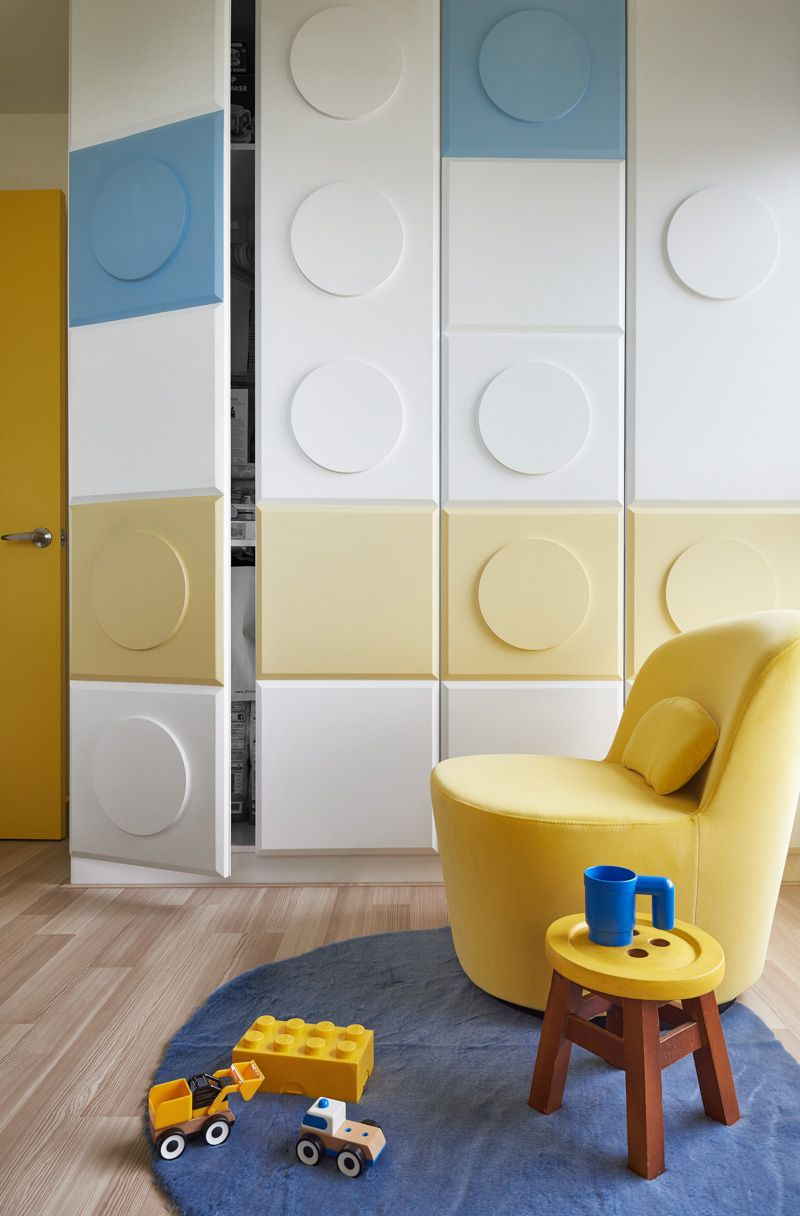 This incredible home could make anyone feel like a kid again. HAO Design Studio completed this apartment renovation dedicated to play, imagination, and of course Lego!
