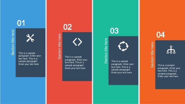 Flat Design Powerpoint Template Google Search Flat Design