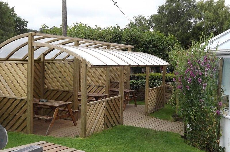 Zone garden shelter | #smoking #shelter #design | Garden Shelters ...