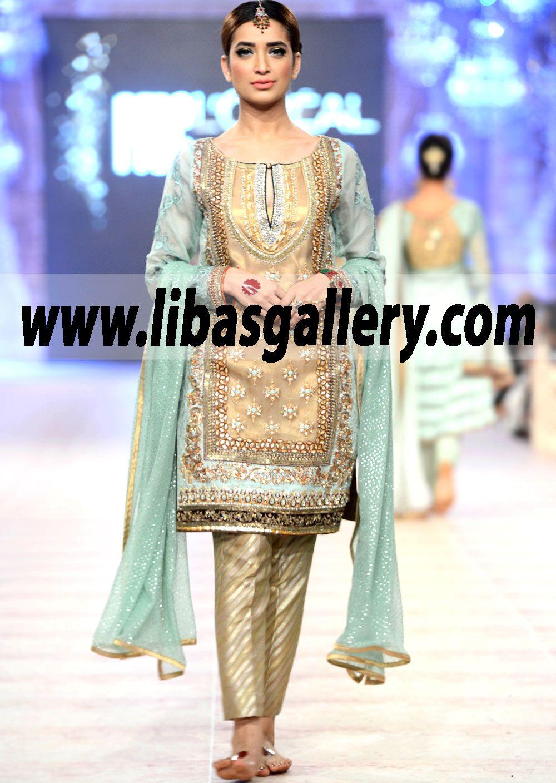 Pakistani Designer Party Dresses 2015