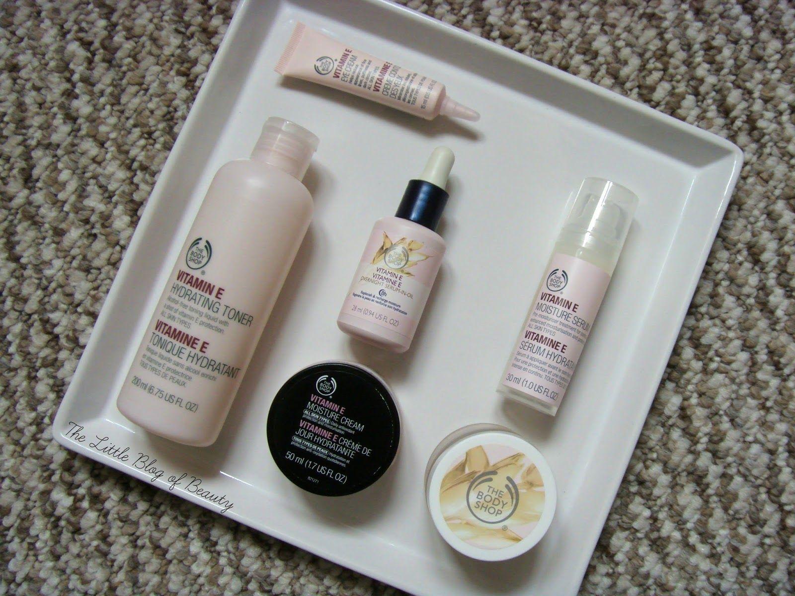 The Body Shop Vitamin E range