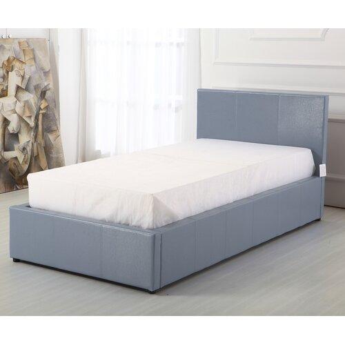 Fantastic Boston Upholstered Ottoman Bed Wrought Studio Size Single Inzonedesignstudio Interior Chair Design Inzonedesignstudiocom