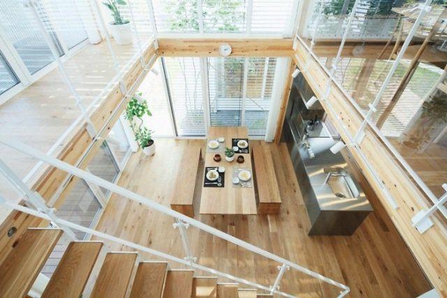 mezzanine de style japonais contemporain