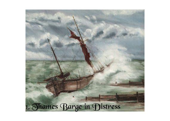 Fine Art Print Cards: Seascapes by Nibz (Set 2)