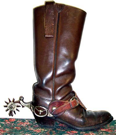 Spurs Are A Metal Tool Worn On The Heels Of Boots That Are Used To