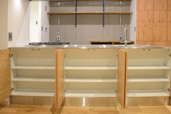 温かみのある打ちっぱなしテイストにリノベーション リノベーション キッチン リノベーション キッチン