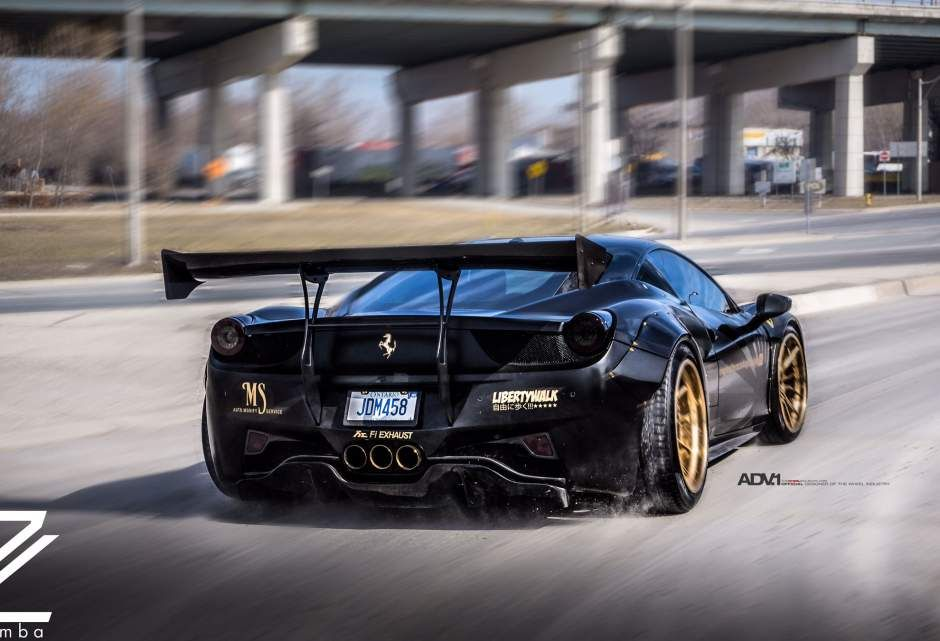 Libertywalk Ferrari Jdm Supercar Hellaflush Stance Widebody