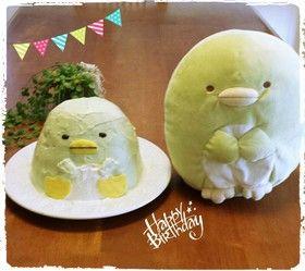 すみっこぐらし立体ケーキ By ナチュラルまま レシピ 立体ケーキ ケーキ レシピ