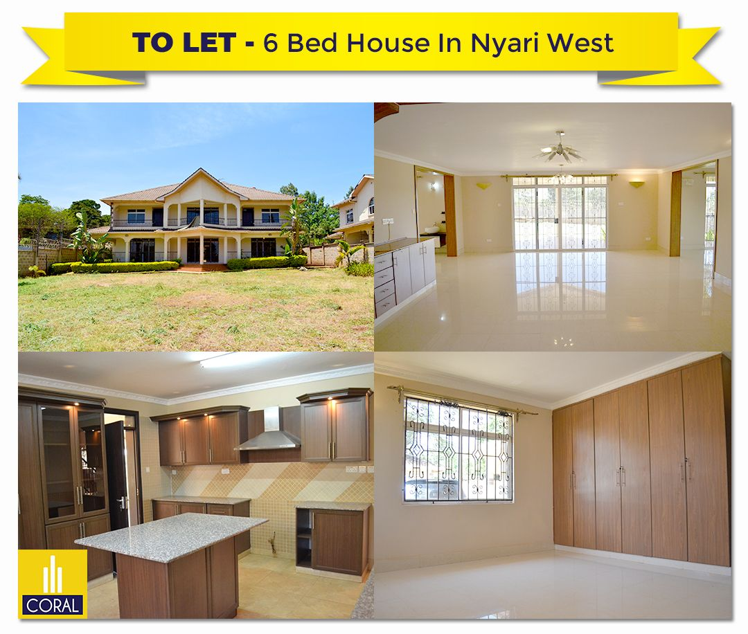 6 Bedroom House For Rent In Nyari West Estate Coral Property International Renting A House 6 Bedroom House House
