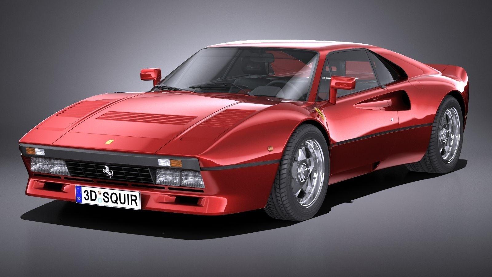 Lowpoly Ferrari 288 Gto 1984 1987 In 2021 Ferrari 288 Gto Gto Ferrari