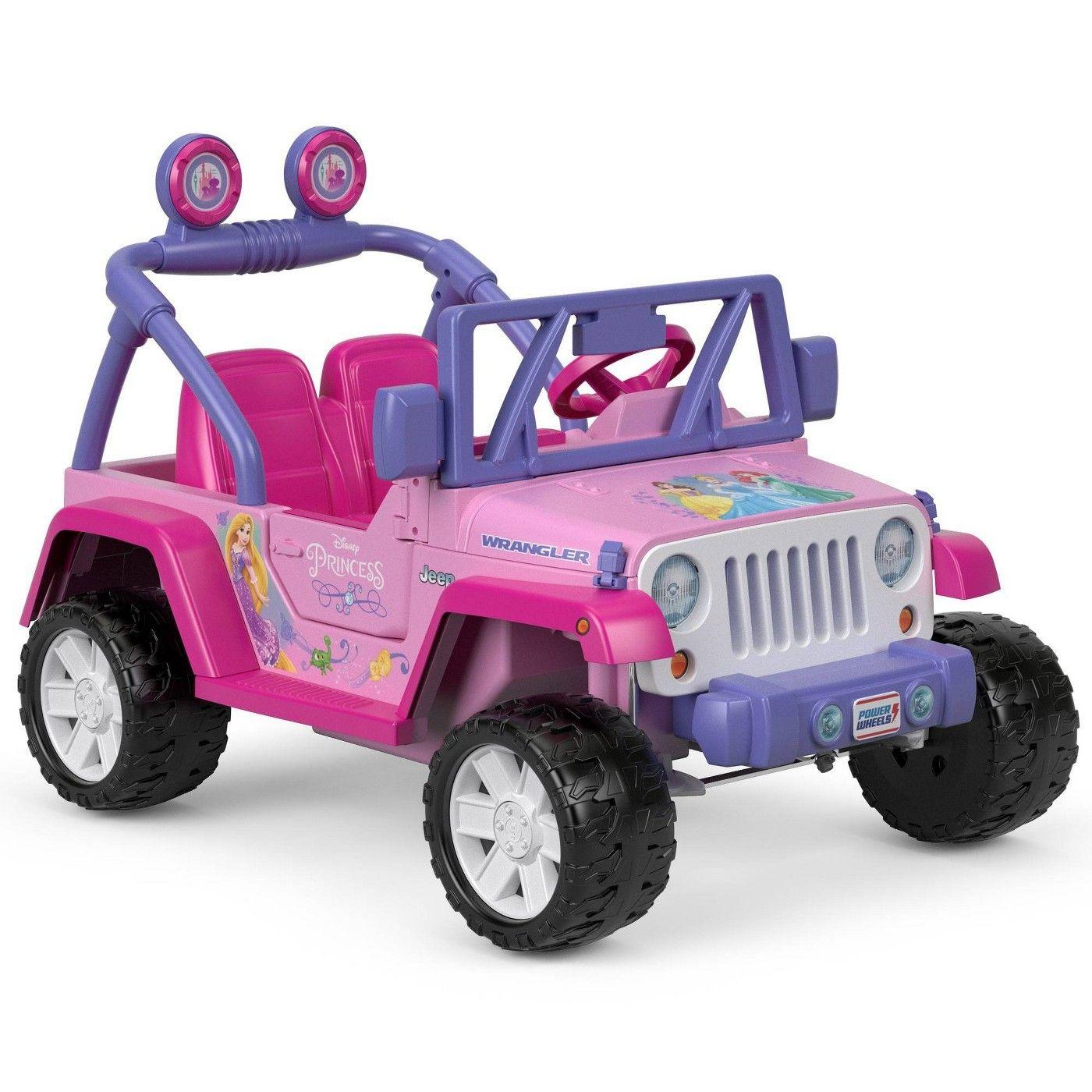 Power Wheels Disney Princess Jeep Wrangler Affiliate Disney