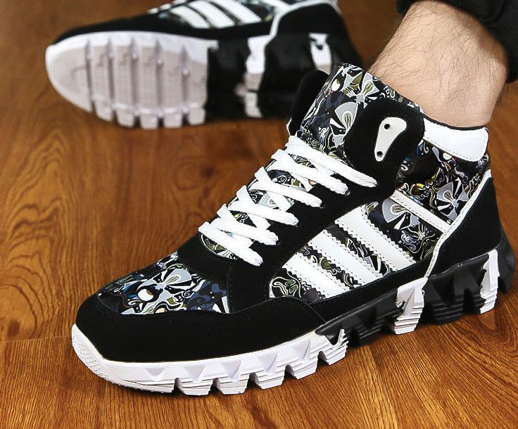san francisco f288b f6455 Fashion High Men's Casual Sports Shoes Hip Hop Shoes Fashion Men Ankle  Boots | eBay