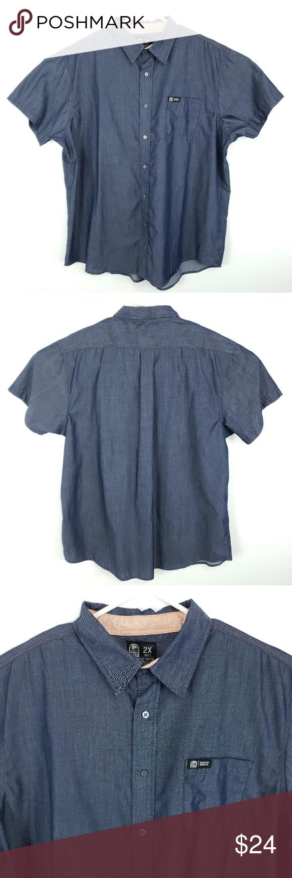 Taco Bell Employee Button Front Shirt Button front shirt